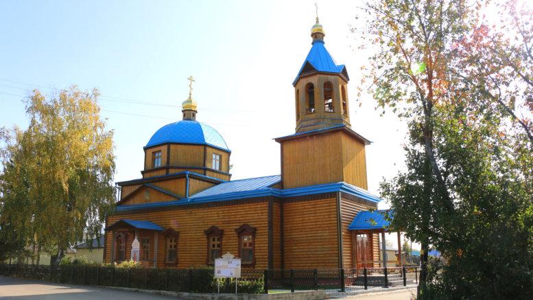 Возрождение храма в селе Зоркальцево