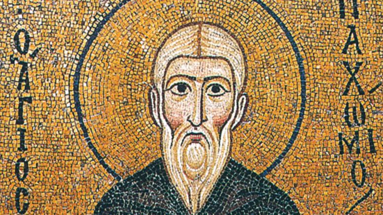 Святой Пахомий Великий